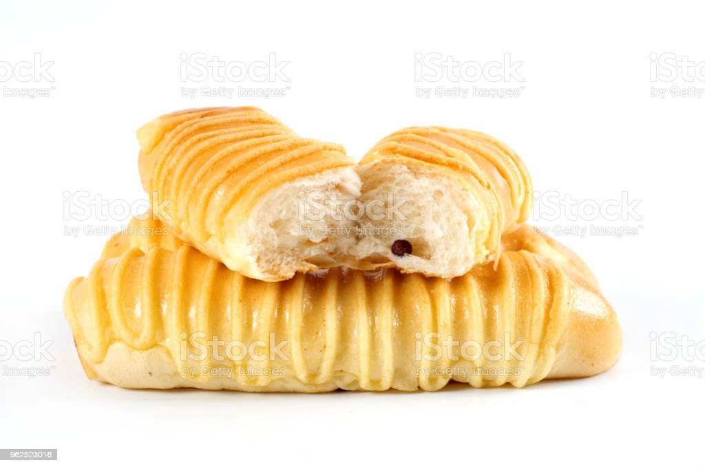 many stick breads on white background - Royalty-free Bakery Stock Photo