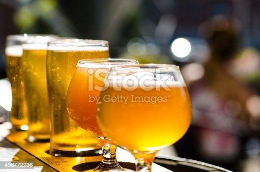 istock Many tasty beers 498772236