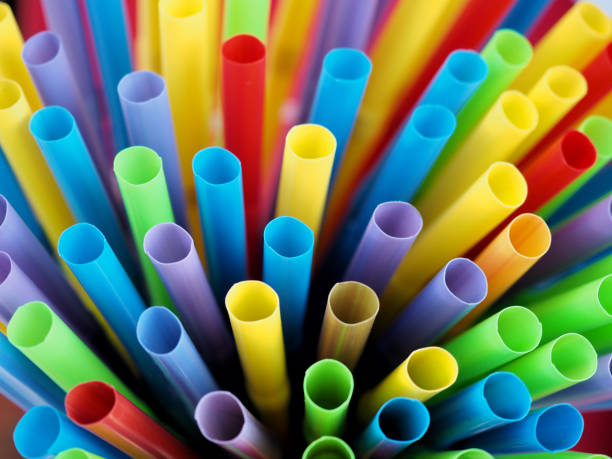 Many tubes or straws for the sale of cold drinks. Many tubes or straws for the sale of cold drinks. drinking straw stock pictures, royalty-free photos & images