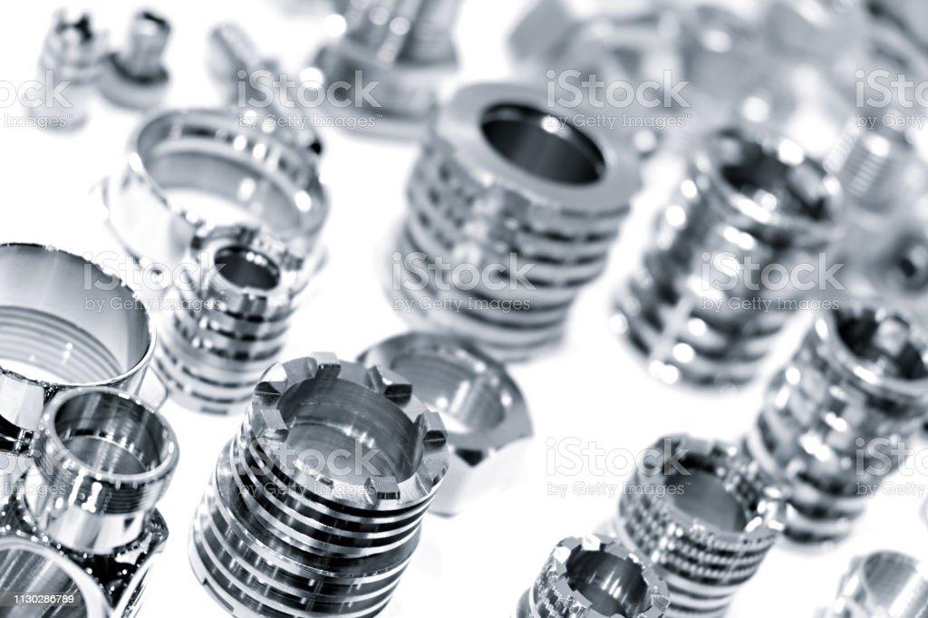 Multitude de détails en métal fond de dessin ou modèle industriel photo libre de droits