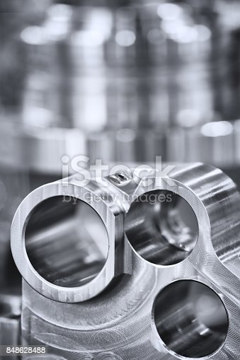 istock Many types of metal details industrial design background 848628488