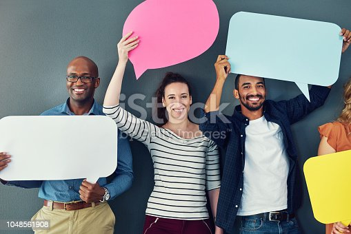 1048561866 istock photo Many voices, one mission 1048561908