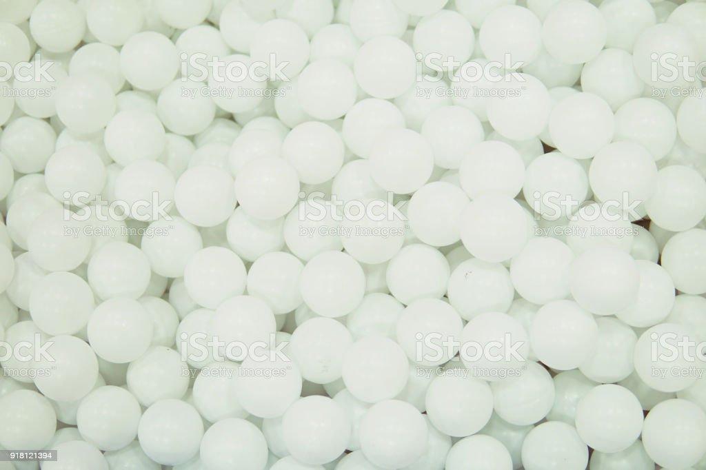 many white round balls texture background nice