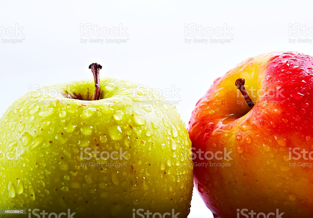 Manzanas stock photo