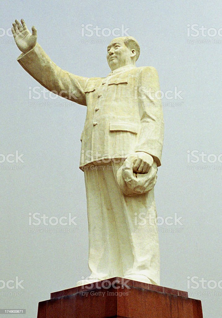 Mao Zedong royalty-free stock photo