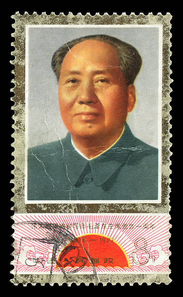 "Mao zedong (XXXLarge) ""China postage stamp: Mao Zedong (1893aa1976), also called Mao Tse-tung, or Chairman Mao, one of the founders of Chinese Communist Party and the People's Republic of China.Related Chinese politicians:"" mao tse tung stock pictures, royalty-free photos & images"