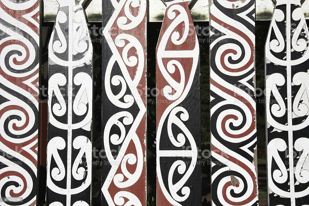 Maori art royalty-free stock photo