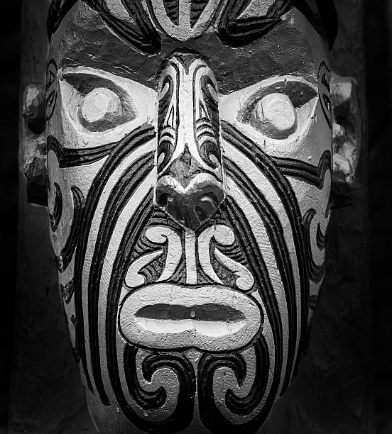 maori carving - nzgmw2017 stock pictures, royalty-free photos & images
