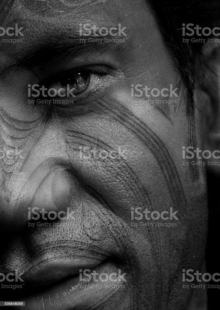 Maori Tattoo stock photo
