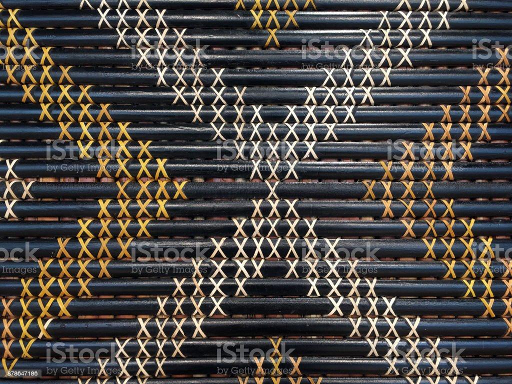 Maori weaving artwork stock photo