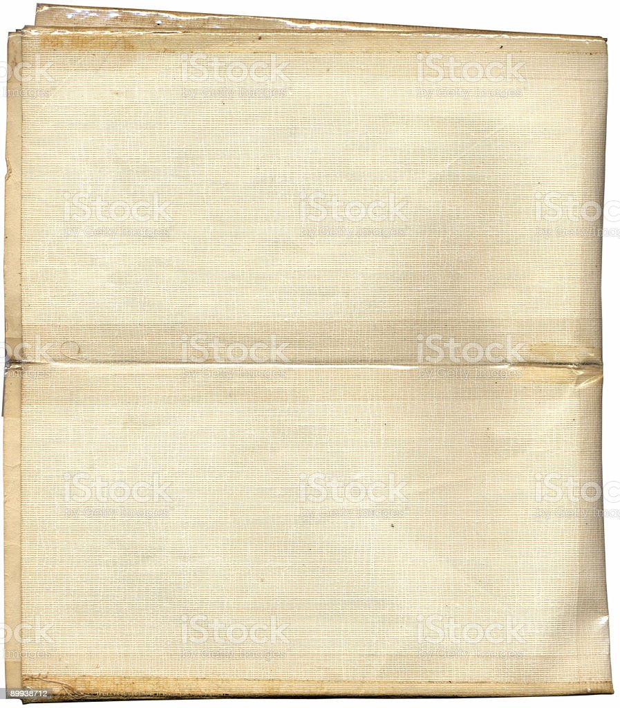 Map Book Texture Scan (Clipping path inc) royalty-free stock photo