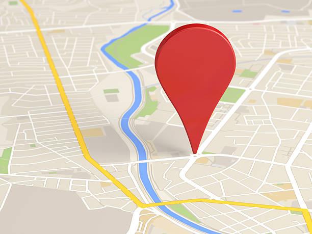 icono de mapa localizador - sistema de posicionamiento global fotografías e imágenes de stock