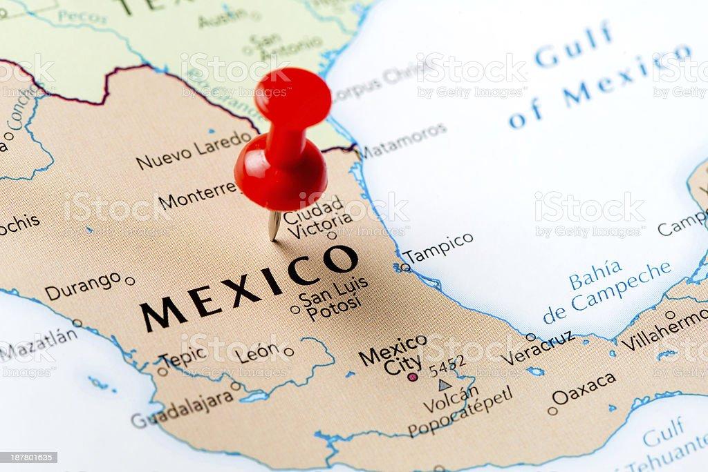 Mapa De México Fotografía De Stock Y Más Imágenes De Cartografía - Mapa de mexico