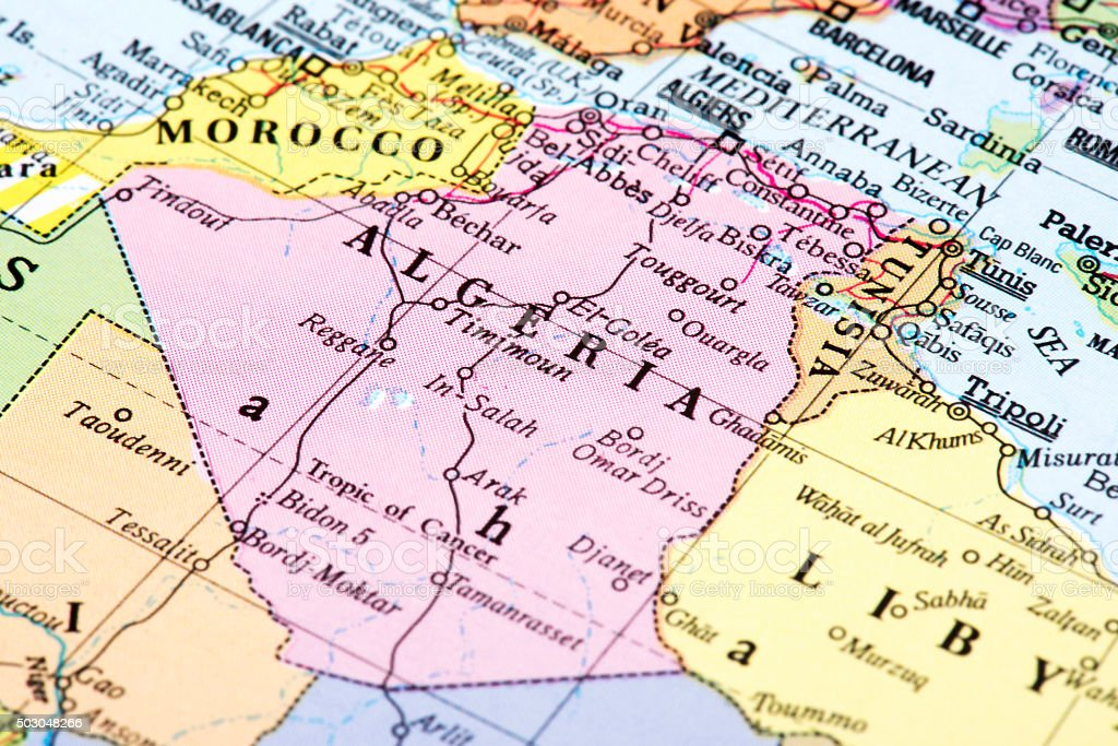 Map Of Algeria Stock Photo - Download Image Now - iStock Map Of Algeria on map of yemen, map of middle east, map of mali, map of syria, map of laos, map of algiers, map lebanon, map of sudan, map of gibraltar, map of bahrain, map of angola, map of iraq, map of europe, map of tunisia, map of switzerland, map of africa, map of central america, map of great britain, map of libya, map of morocco,