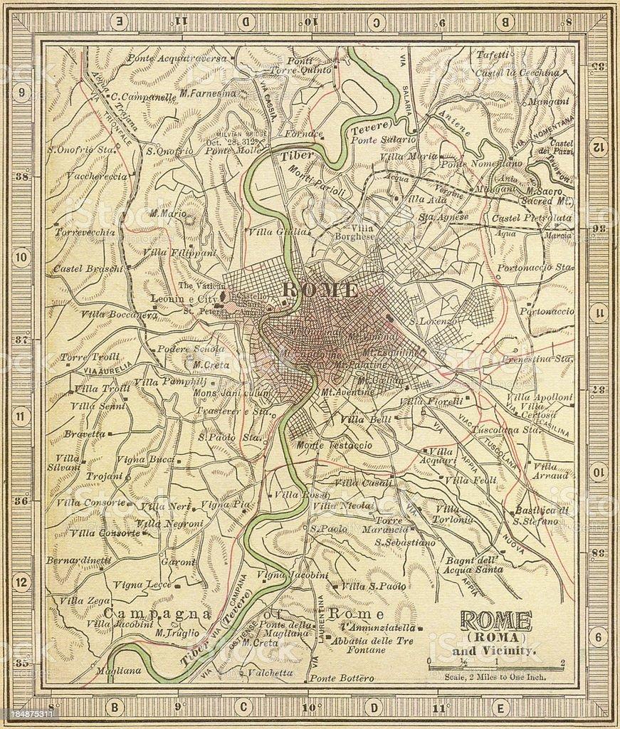 Cartina Antica Roma.Mappa Antica Roma Fotografie Stock E Altre Immagini Di Antica Roma Istock