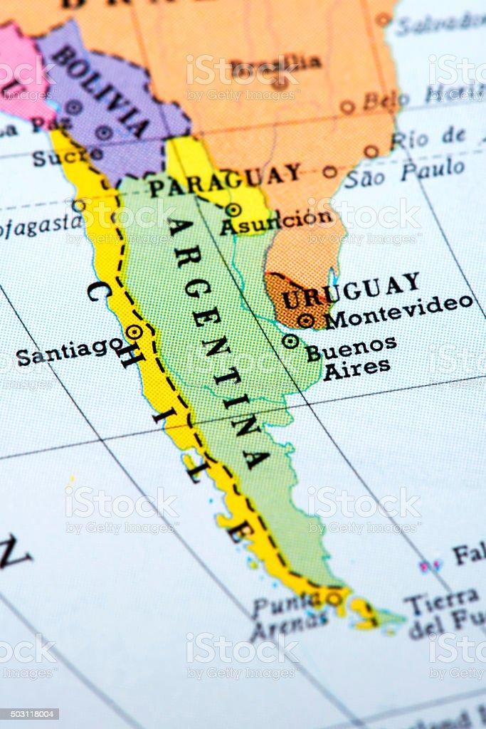 Fotografa de mapa de argentina y chile y ms banco de imgenes de mapa de argentina y chile foto de stock libre de derechos gumiabroncs Gallery
