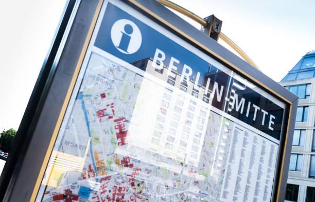 Karte von Berlin – Foto