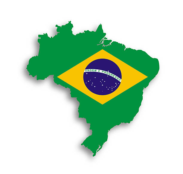 map-of-brazil-with-flag-inside-picture-id184773585