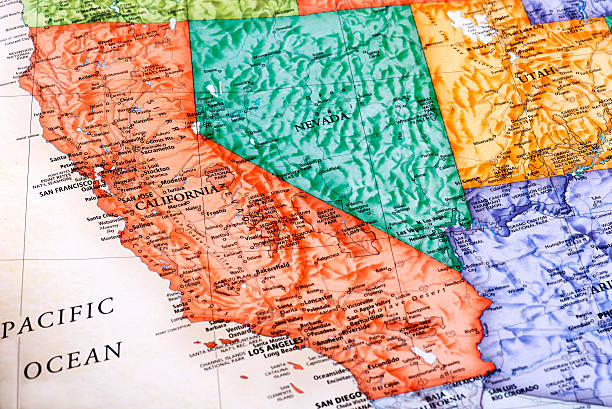 Nevada Map Pictures Images And Stock Photos IStock - Nevada usa map
