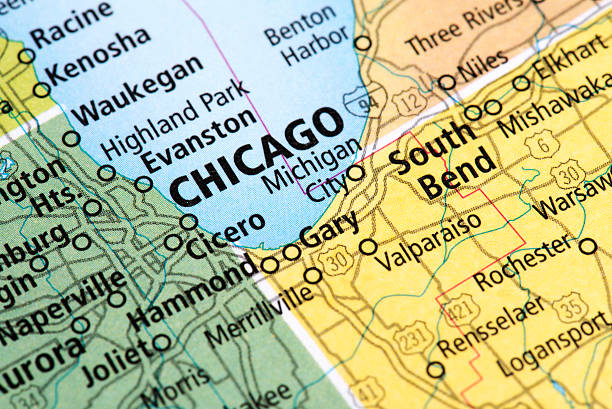Illinois State Map Pictures Images And Stock Photos IStock - Illinois usa map