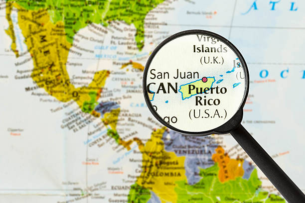 Best Puerto Rico Map Stock Photos, Pictures & Royalty-Free ...