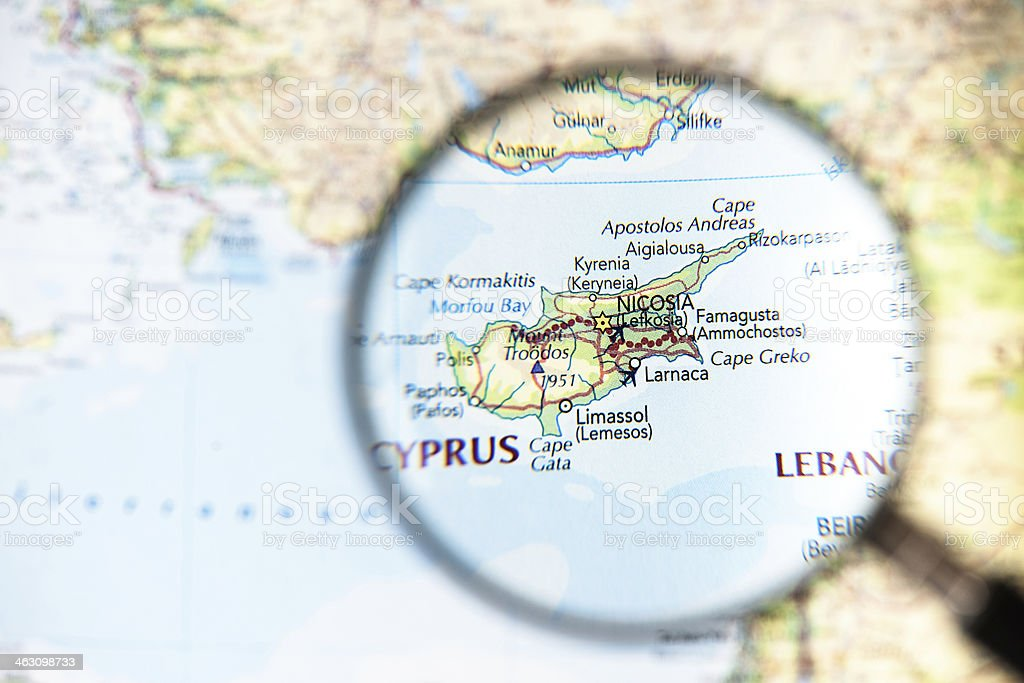 Map of cyprus island stock photo more pictures of business travel map of cyprus island royalty free stock photo gumiabroncs Image collections