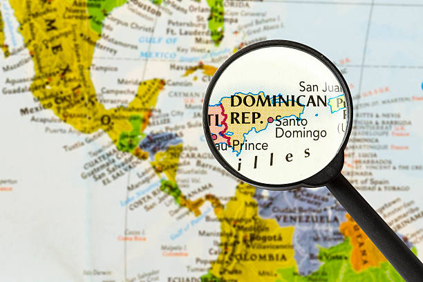 Royalty Free Dominican Republic Map Pictures, Images and Stock ...