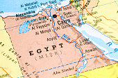 Rough map of Egypt