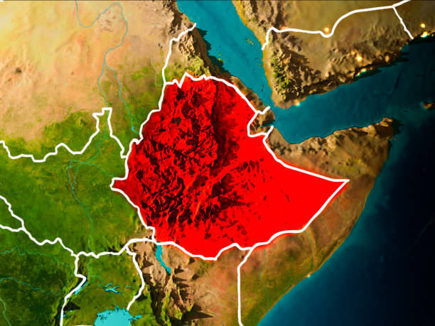 Royalty Free Ethiopia Map Pictures, Images and Stock Photos - iStock