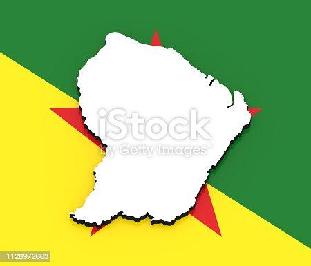 531915694istock Mapa de Guyana Francesa 531915694
