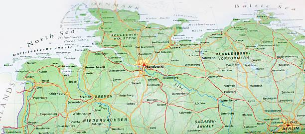 Karte von hamberg Bereich – Foto