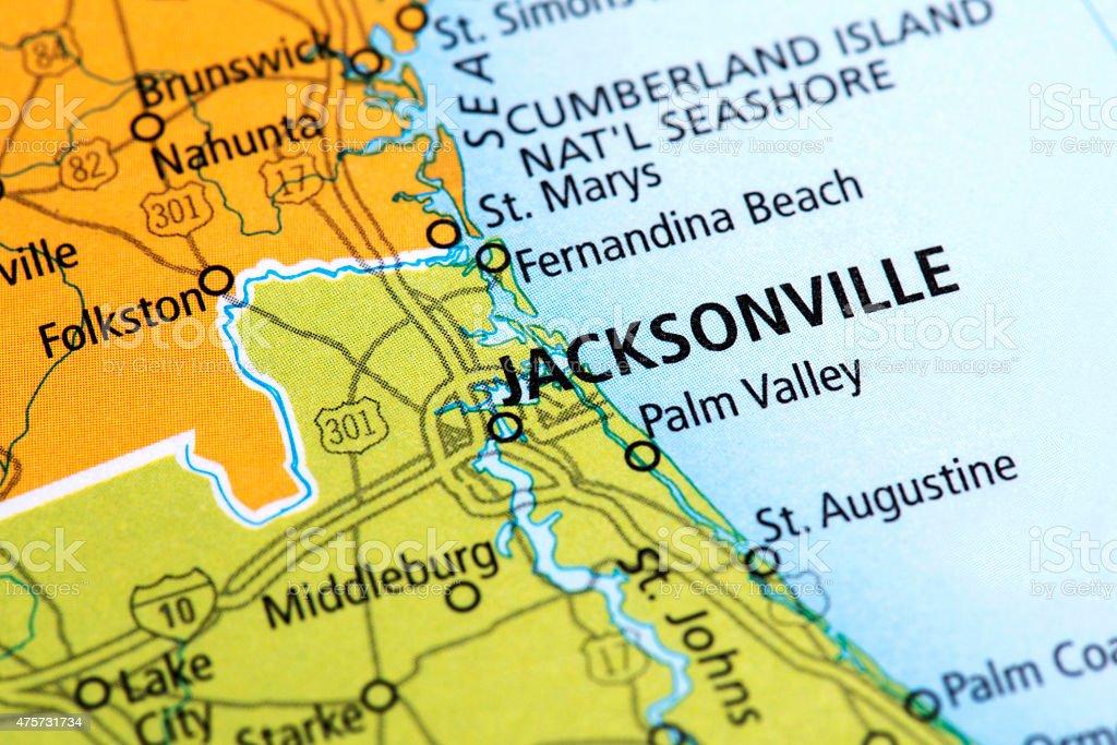 Jacksonville Florida Map.Royalty Free Jacksonville Florida Florida Map Travel Pictures