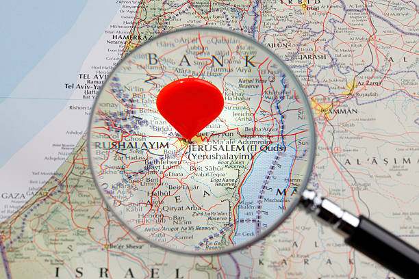 Royalty free jerusalem map pictures images and stock photos istock map of jerusalem stock photo gumiabroncs Images