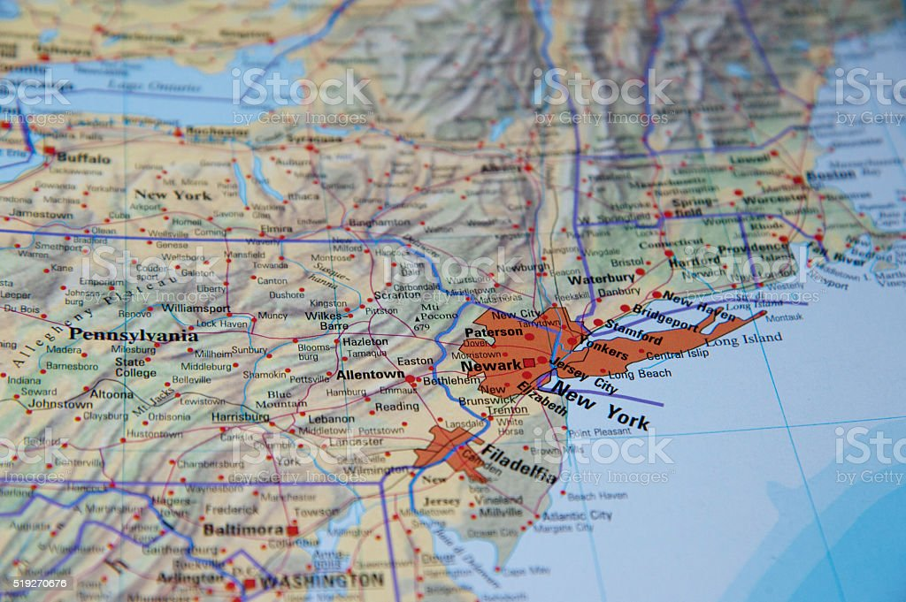 map of new york stock photo  download image now  istock