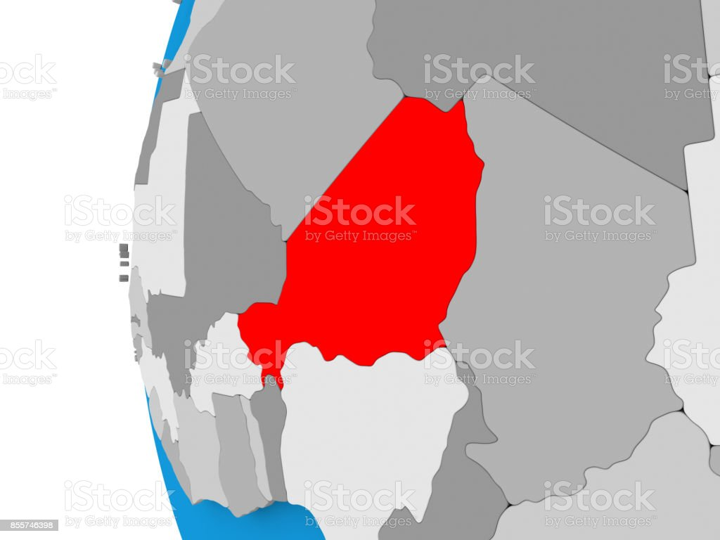 Picture of: Map Of Niger On Political Globe Stock Photo Download Image Now Istock
