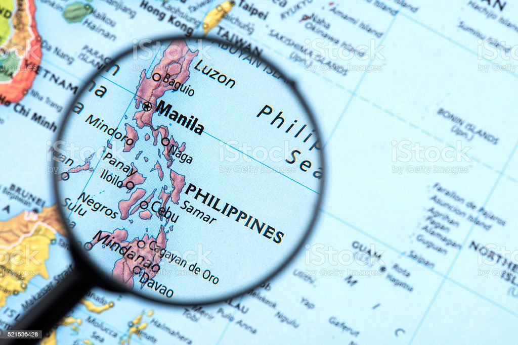 Royalty Free Philippines Map Pictures Images And Stock Photos Istock