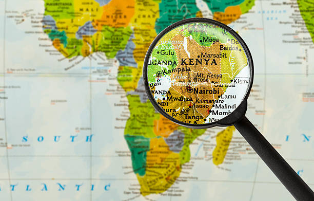 Best Kenya Map Stock Photos, Pictures & Royalty-Free Images - iStock
