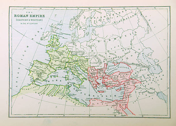 Roman Empire Map Pictures Images And Stock Photos IStock - Rome empire map