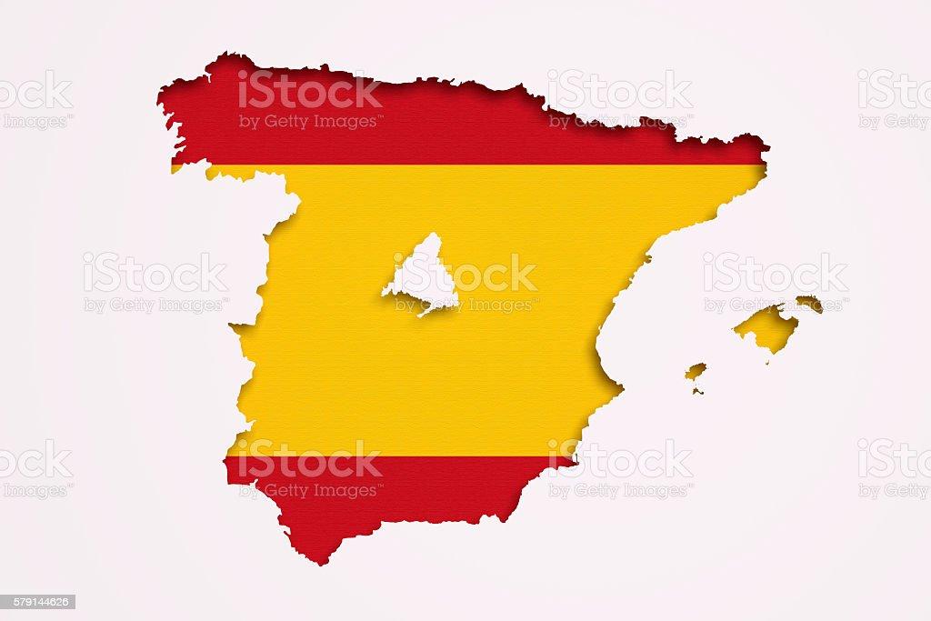 Madrid Capital De España Mapa.Mapa De Espana Y De Madrid Foto De Stock Y Mas Banco De