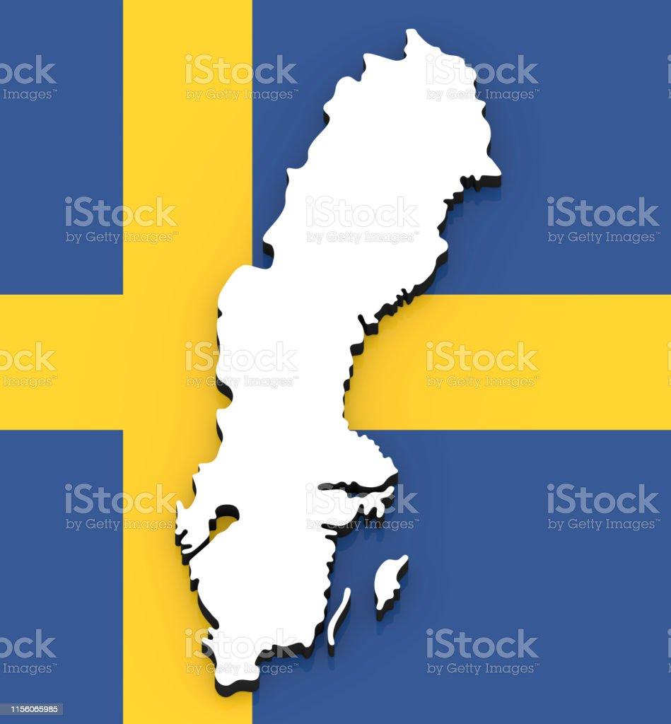 3d Map Of Sweden On The National Flag Stock Photo - Download ...  D Map Of Sweden on street view of sweden, outline map of sweden, blackout map of sweden, interactive map of sweden, travel map of sweden, coloring map of sweden, cartoon map of sweden, cute map of sweden, vintage map of sweden, hd map of sweden, food map of sweden, terrain map of sweden, print map of sweden, google map of sweden, black map of sweden,
