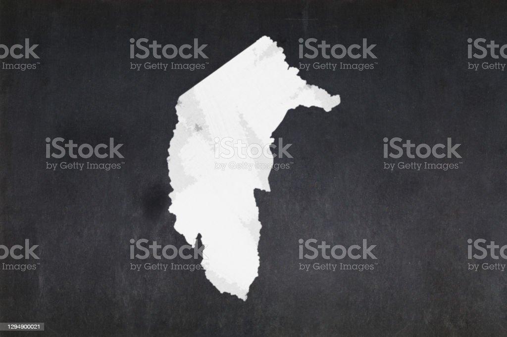 Map of the Australian Capital Territory drawn on a blackboard Blackboard with a the map of the Australian Capital Territory (Australia) drawn in the middle. Australia Stock Photo