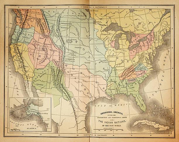 Indianerstamme Nordamerikas Karte.Indianerstamm Nordamerika Bilder Und Stockfotos Istock