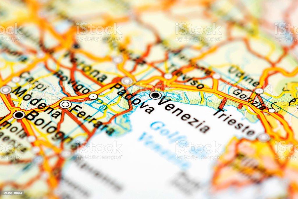 Venedig Karte.Karte Von Venedig Italien Stockfoto Und Mehr Bilder Von