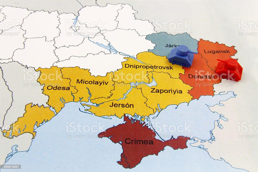 Map Of War In Donb Ukraine With Tank Stock Photo ... Ukraine War Map on ukraine map before and after, eastern ukraine donetsk map, control eastern ukraine map, ukraine history map, ukraine syria map, ukraine elections, ukraine propaganda posters, ukraine unrest map, ukraine economy 2014, turkey ukraine map, ukraine combat map, ukraine map 2014, ukraine air strikes, ukraine economy map, ukraine political unrest, ukraine map front, ukraine russian map invasion, current ukraine map, ukraine in europe or asia,