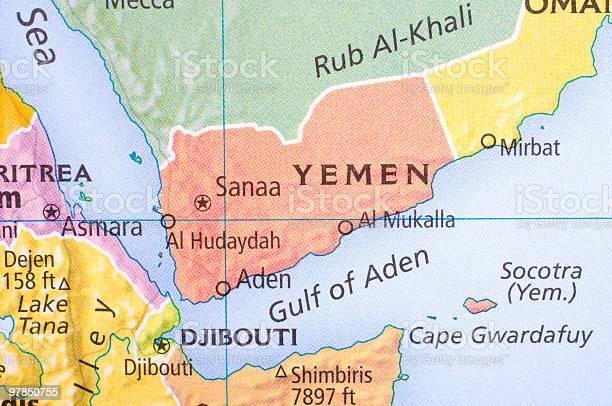 Cartina Yemen.Mappa Dello Yemen Fotografie Stock E Altre Immagini Di Aden Istock