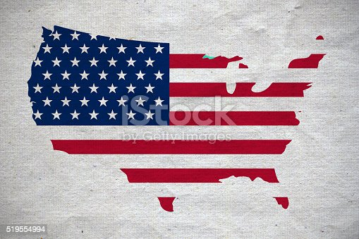 182764873istockphoto USA map on white canvas 519554994