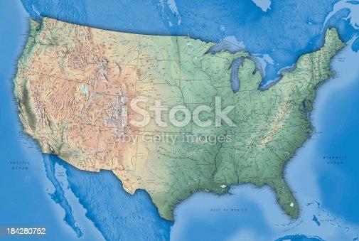 istock USA Map 184280752