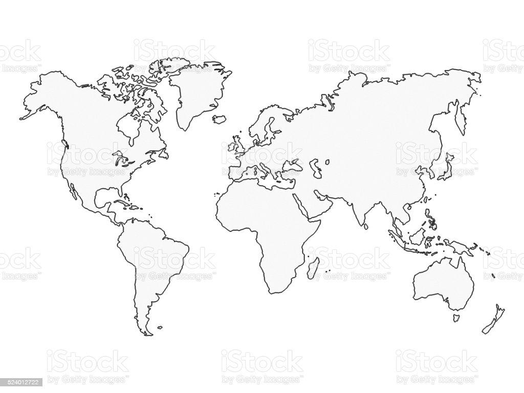 Map stock photo