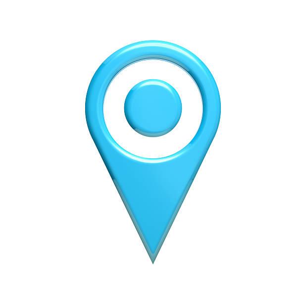 map pin locatot. 3d render illustartion - baguette pour pointer photos et images de collection
