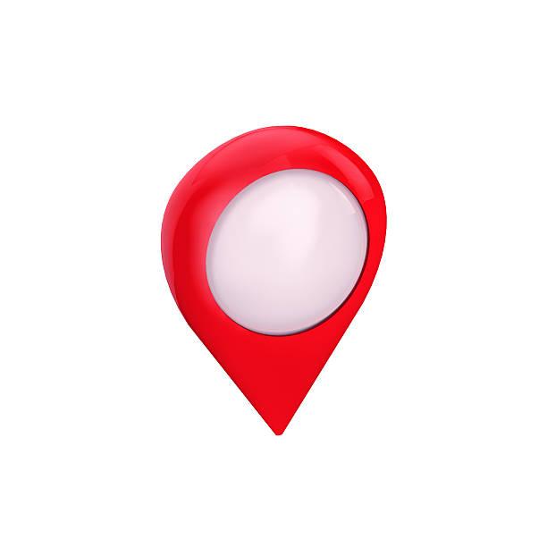 carte symbole emplacement pin isolé, point de vue, - baguette pour pointer photos et images de collection